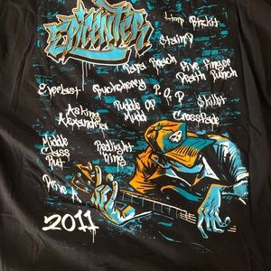 Shirts - Epicenter 2011 concert lineup T-shirt 2xl